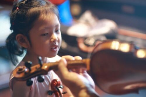 learning the violin
