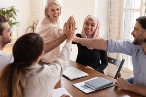 Success from being confident in the workplace