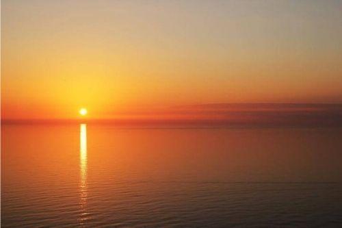 sunset, beautiful, moving on