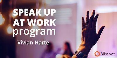 speak up at work program