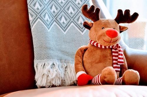 Christmas Reindeer Doll