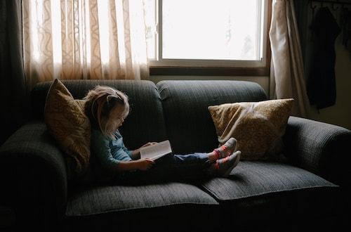 A Girl in the Sofa