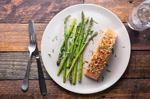 Eat Salmon to Feel Healthy